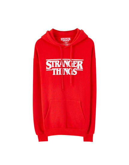 Red Stranger Things 3 hoodie