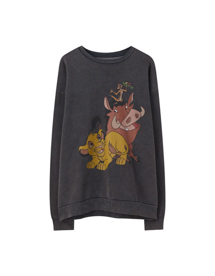 Sweat Le Roi Lion personnages