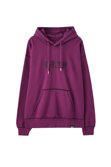 Sweat lilas STWD