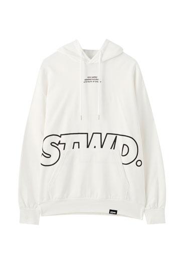 STWD logo hoodie