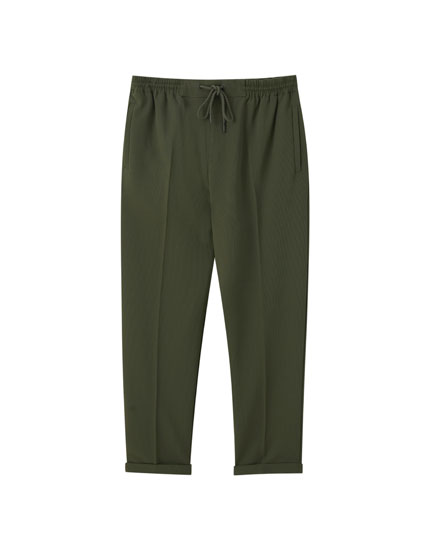 Stretch jogging trousers