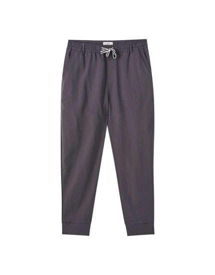 Beach trousers in lightweight fabric