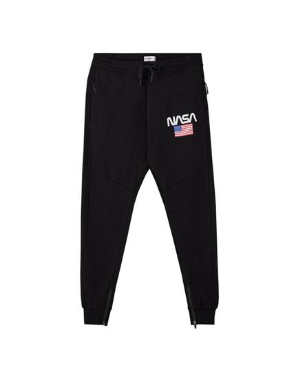 NASA ottoman jogging trousers