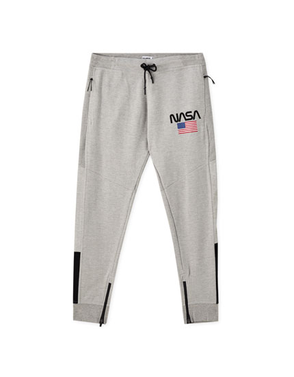 NASA ottoman jogging trousers