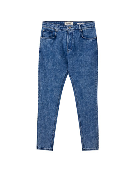 Jeans carrot fit basic