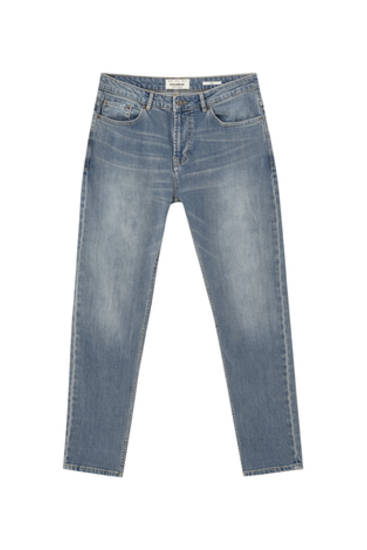 Light-coloured slim comfort fit jeans