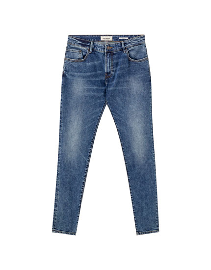Jeans skinny fit azules
