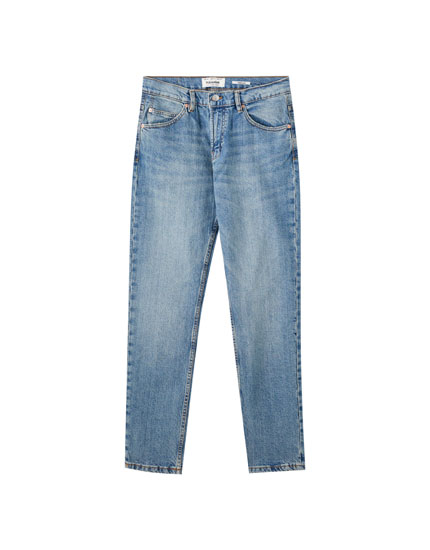 Regular comfort fit cotton jeans