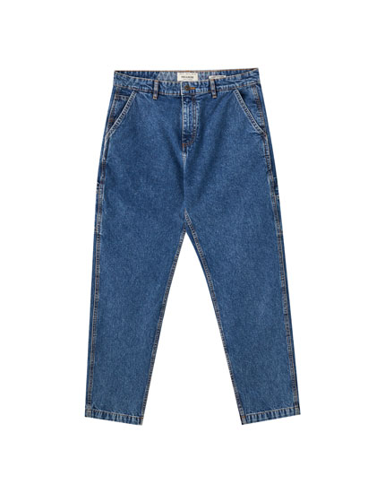 Jeans carpenter azules 90's