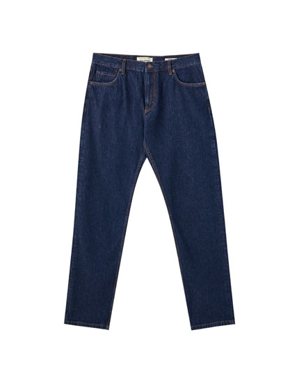 Cotton rinse jeans