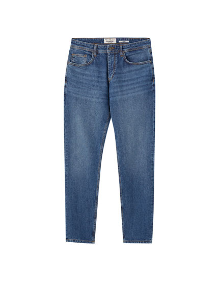 Tapered comfort fit jeans