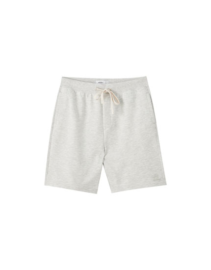 Bermuda jogging básica algodón