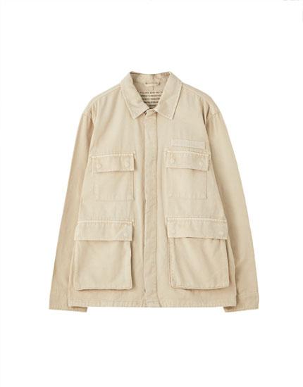 Blouson workwear poches à rabat