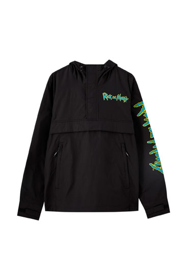 Rick & Morty anorak jacket