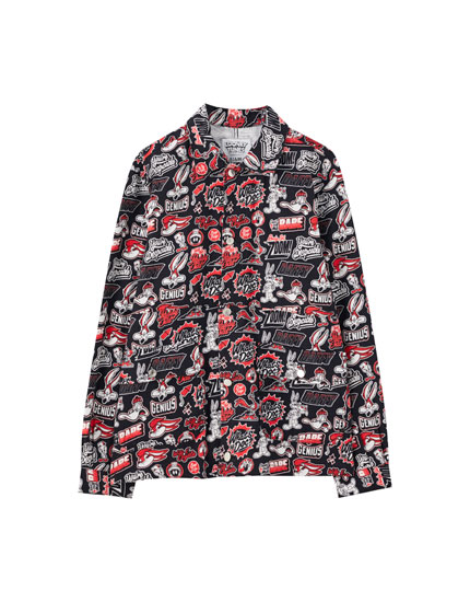 Jacket with Looney Tunes print