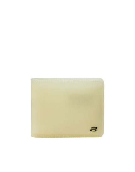 Basic wallet with embossed logo