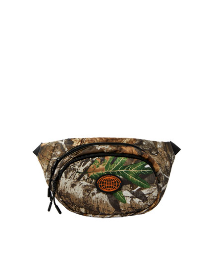 Realtree print belt bag
