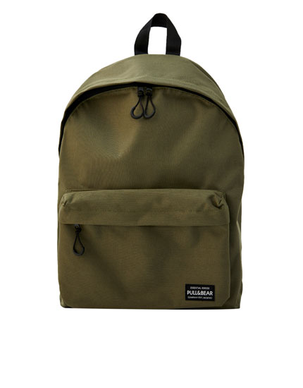 Basic khaki backpack