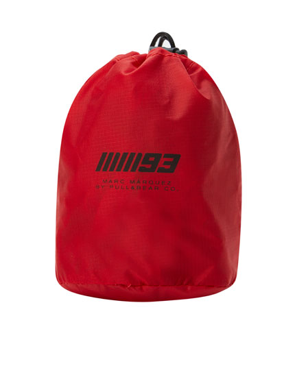 Marc Márquez 93 backpack cover with logo