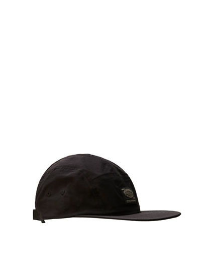 Five-panel cap with logo