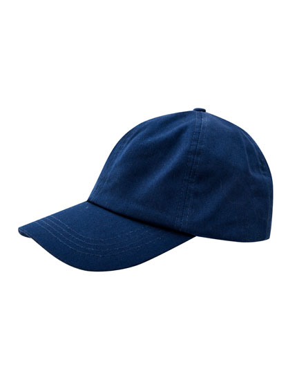 Dunkelblaues Basic-Basecap