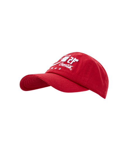 Red Coca-Cola cap