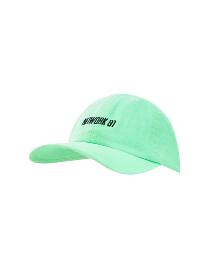 Cappello basic fluo