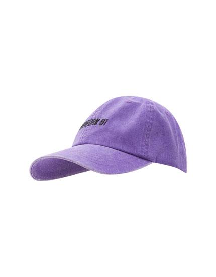 Gorra básica flúor