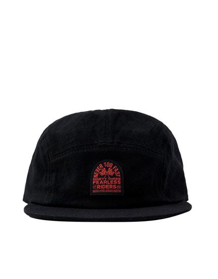 Μαύρο καπέλο τζόκεϊ Marc Márquez 93