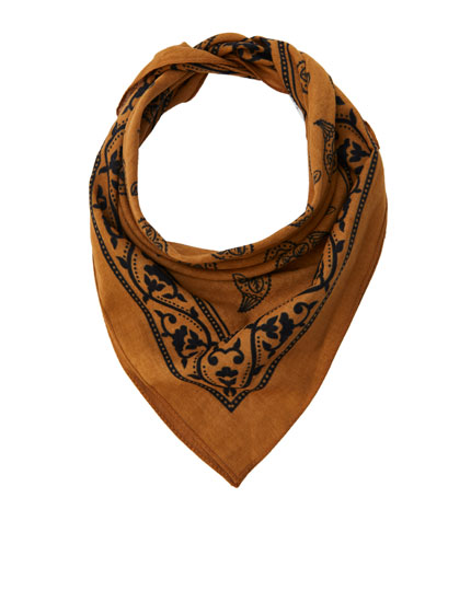 Classic brown bandana