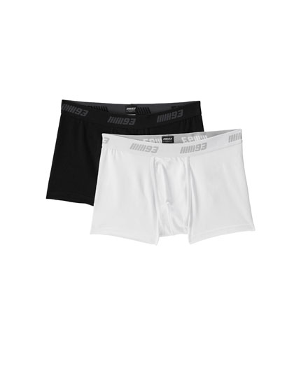 Pack of 2 basic Marc Márquez boxers
