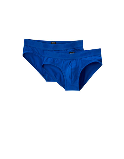Pack of 2 blue Marc Márquez briefs