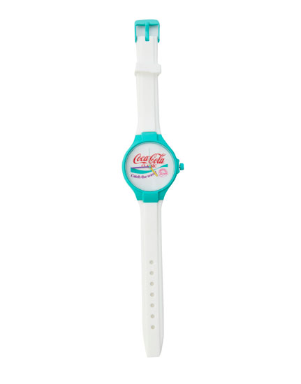 Turquoise Coca-Cola watch