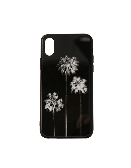 Palm tree print smartphone case