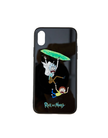 Rick & Morty wormhole smartphone case