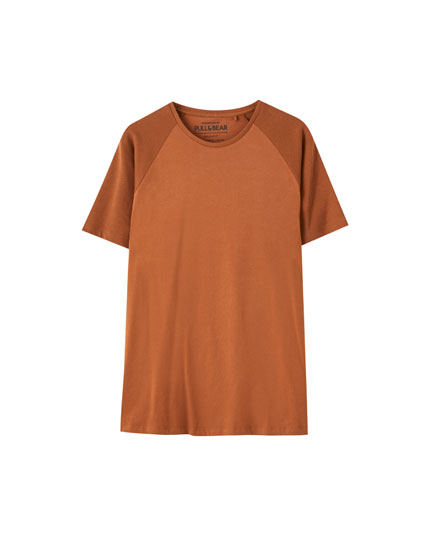 T-shirt basique ottoman manches courtes