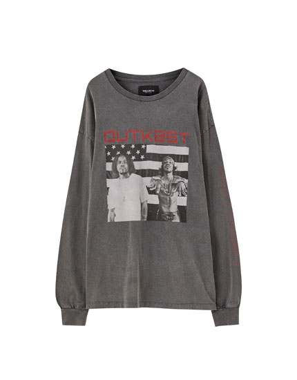 Long sleeve OutKast T-shirt