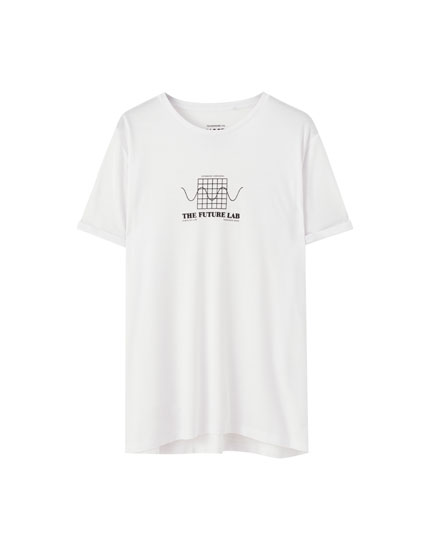 Playera blanca Future Lab