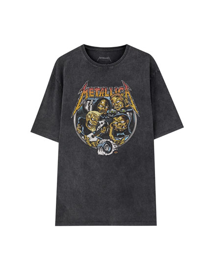 Playera Metallica Pinball
