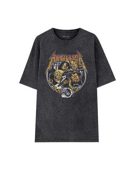 Camiseta Metallica Pinball