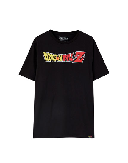 Playera Dragon Ball Z negra