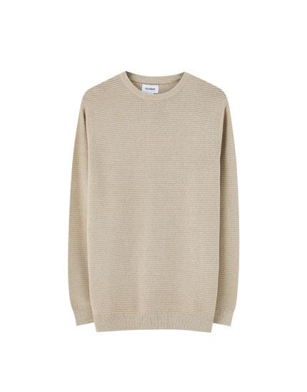 Ottoman knit sweater