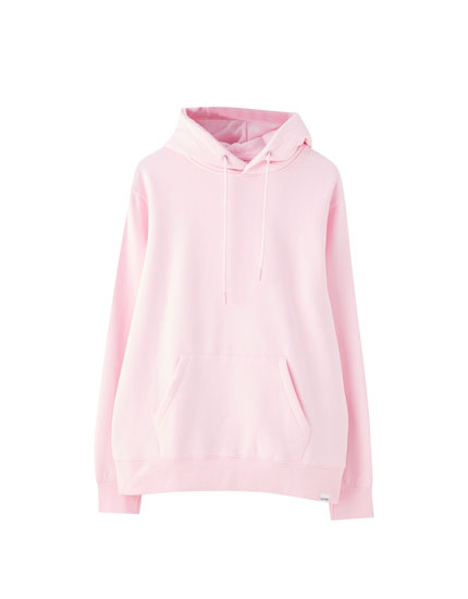 Basic hoodie with pouch pocket