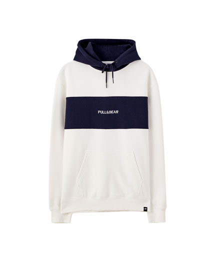 Basic embroidered logo hoodie