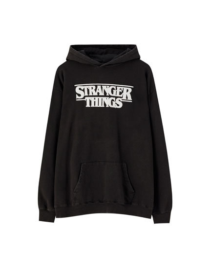 Sudadera Stranger Things 3 negro