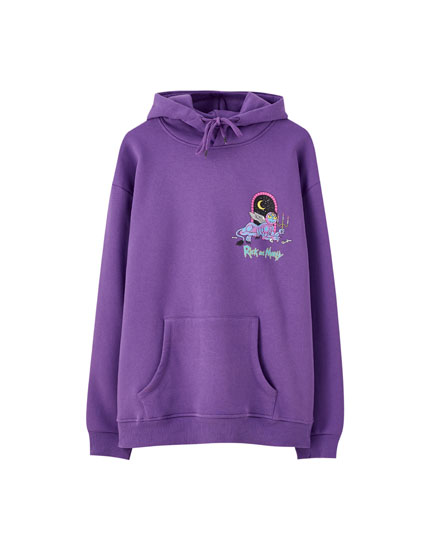Sweat Rick et Morty violet
