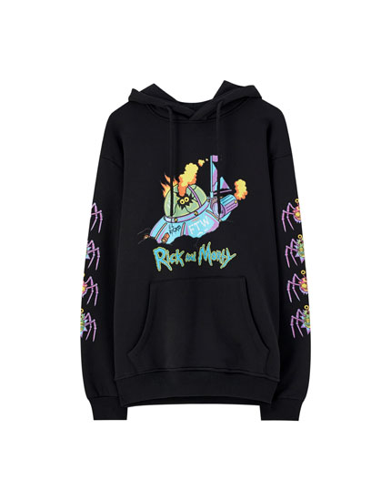 Sweatshirt de Rick & Morty com nave