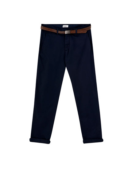 Pantalón chino smart skinny fit
