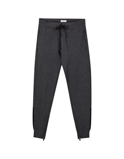 Basic ottoman jogging trousers