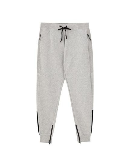 Basic ottoman jogging trousers